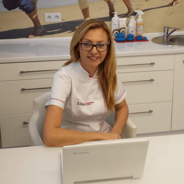 Magda dietetyk w klinice w Opolu