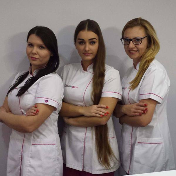 personel gabinetu kosmetycznego w Opolu